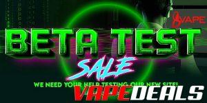 Eightvape Beta Test Sale (21% Off)