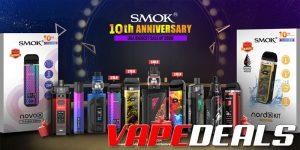 Eightvape Smok 10th Anniversary Sale