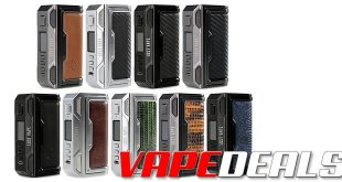 Lost Vape Thelema DNA250C Box Mod $97.29