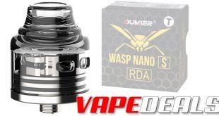 Oumier Wasp Nano S RDA (Free Shipping) $15.81