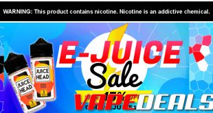 Vaporider E-liquid Sale (Extra 15% Off)