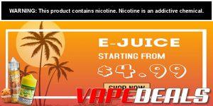 Vaporider E-Juice Starting From $4.99