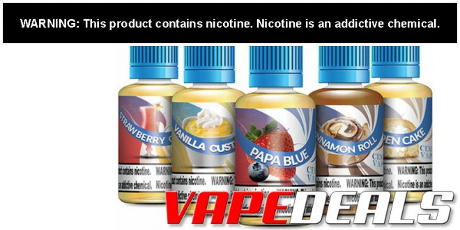 Central Vapors E-liquid Sample Pack (5 Bottles) $8.99