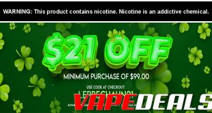 Eightvape St Patrick's Day Sale