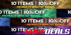 MyVPro 10 Items For 10% Off Sale *NEW*