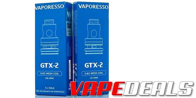 Vaporesso GTX / GTX-2 (5 Packs) $3.56