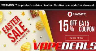 3avape Easter 2021 Sale (New Coupon Code)