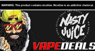 Nasty Juice E-liquid 60mL (3 Flavors) $6.40