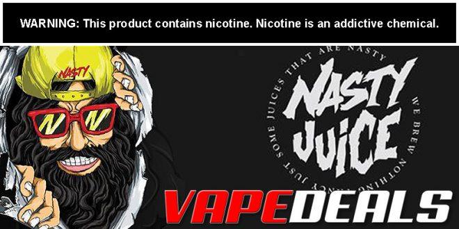 Nasty Juice E-liquid 60mL (3 Flavors) $6.40