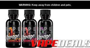 Savage CBD Vape Juice Sale (250mg) $14.50
