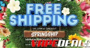 Eightvape FREE SHIPPING Promotion