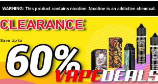 NewVaping Clearance Sale - Up to 60% off