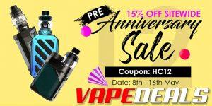 Health Cabin Pre-Anniversary Sale (New Coupon Code)