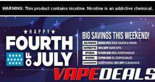 Madvapes 4th of July Sale
