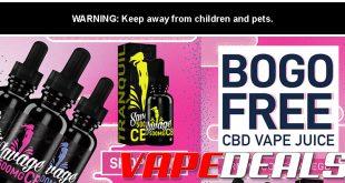 Savage CBD Vape Juice BOGO Sale