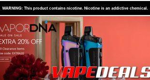 VaporDNA Clearance Sale (FS $99+)