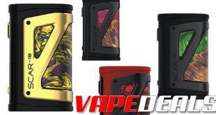 Smok Scar 18 230W Box Mod $26.00