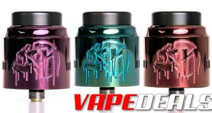 Nightmare RDA 25mm by Suicide Mods (3 New Colors) $45.00