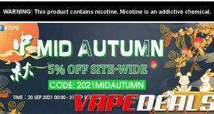 3fvape Mid Autumn Sale (5% Off Sitewide)