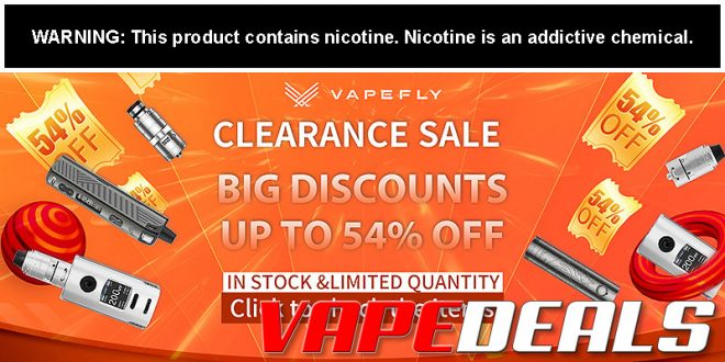Sourcemore Vapefly Clearance Sale