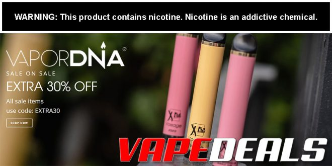 VaporDNA Clearance Sale (Extra 30% Off)
