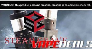 Eightvape Steam Crave Sale (15% Off)