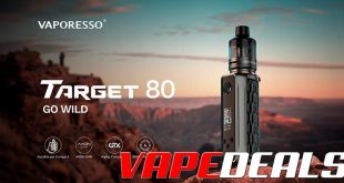 VAPORESSO F(t) Mode in the Target 80 Mod
