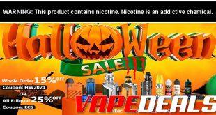 Health Cabin Halloween Vape Deals